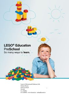 Learn it - LEGO Education Pre-School Catalogue by Ross Maguire - issuu
