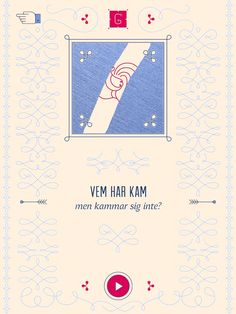 Gåtor Playing Cards, Velvet, Game Cards