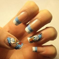 Donald Duck Nails