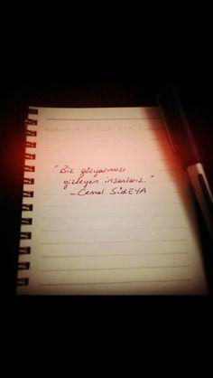 Cemal Süreya Lyric Quotes, Lyrics, Make You Feel, Cool Words, Karma, Poems, Neon Signs, Peace, Feelings