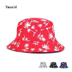 >> Click to Buy << Men Women Fashion Hemp Leaf Design Basin cap Maple Leaves Brooklyn Bucket Hat Fisherman Panama Leisure Hats Summer Beach Coconut #Affiliate