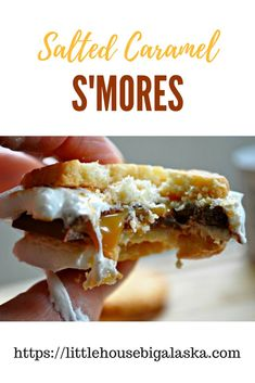 Tell your hips I said I'm sorry in advance! You're going to make these Salted Caramel S'Mores and they're just going to have to deal with it. via @LttlHouseBigAK
