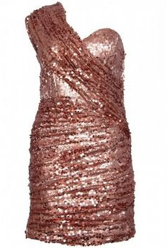 Ruched Sequin Sash Dress by OPULENCE ENGLAND £29 @girlmeetsdress