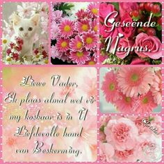 Good Night Quotes, Good Morning Good Night, Goeie Nag, Goeie More, Afrikaans Quotes, Beautiful Collage, Special Quotes, Sleep Tight, Day Wishes