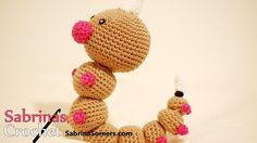 Crochet Weedle - Weedle Haken [Pokemon][Amigurumi]