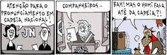 STUDIO PEGASUS - Serviços Educacionais Personalizados & TMD (T.I./I.T.): Charges Engraçadas: TAPEJARA E O PRONUNCIAMENTO DO...
