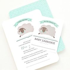 Personalized Baby Bookplates Baby Shower by PearentheticalPress