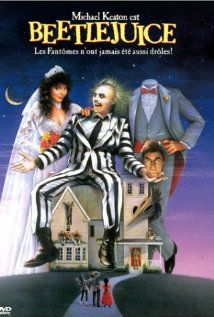 Beetlejuice starring Michael Keaton, Alec Baldwin, Geena Davis, and Winona Ryder; directed by Tim Burton 80s Movies, Great Movies, Horror Movies, Movies To Watch, Scary Movies, Comedy Movies, Kids Comedy, Amazing Movies, Funny Horror