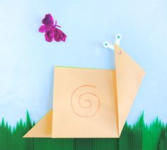 zakka life: Origami Snail