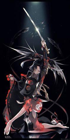 Dororo Hyakkimaru,so cool Anime Demon, Anime Manga, Anime Guys, Anime Art, Touken Ranbu, Mutsunokami Yoshiyuki, Rurouni Kenshin, Warrior Girl, Anime Life