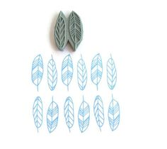 Your place to buy and sell all things handmade NEW Geo Feathers Pattern Stamp - Spring Feathers Geometric Border Rubber Stamp - Cling Rubber Stamp Stamp Printing, Printing On Fabric, Screen Printing, Homemade Stamps, Eraser Stamp, Stamp Carving, Feather Pattern, Printmaking, Stencils