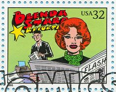 Comic Strips | Flickr - Cosas Visuales | 12/11/13 | As a girl I wanted to be just like Brenda Starr.