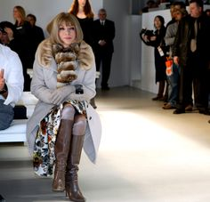 The Honorable Anna Wintour OBE Royalty For Fashion & Journalism