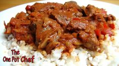 The One Pot Chef Show: Slow Cooked Beef Goulash - RECIPE