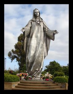 In Santa Clara, The Virgin Mary.