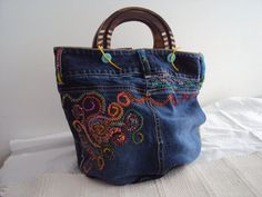 SALE Ultimate Purse Embroidered Beaded por JaneCohenArtfulBags