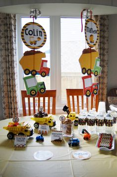 Construction Party Value Package - customized for your party via Etsy