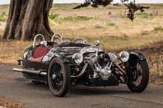 Morgan 3-Wheeler. Автомобили с ретро-дизайном, которые выпускаются в наши дни.