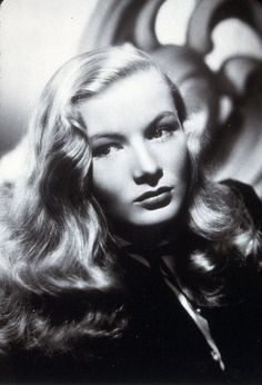You could put all the talent I had into your left eye and still not suffer from impaired vision.   Veronica Lake