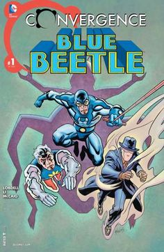 Convergence: Blue Beetle (2015) #1: STARRING HEROES FROM CRISIS ON INFINITE EARTHS! Hub City is on the brink of collapse and anarchy! But its heroes—Blue Beetle, Captain Atom, and The Question—find inspiration and strength from a most unlikely source.