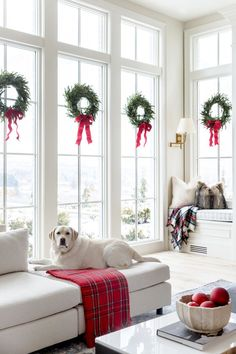 My Home Decorated for Christmas... - Pink Peonies by Rach Parcell #holidays #christmas