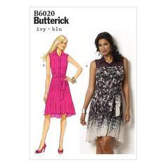 Butterick B6020 Misses' Dress & Belt | Spotlight Australia