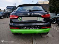 Folierung eines Audi Q3