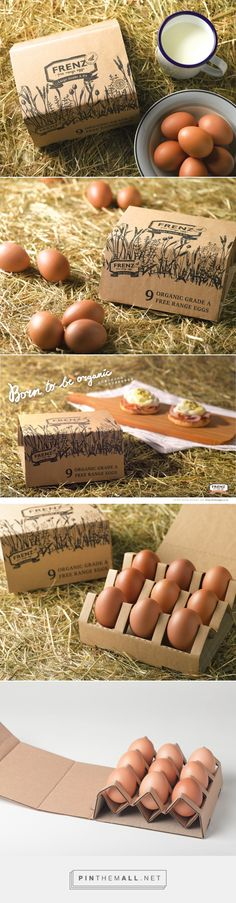 Frenz Egg packaging design by Emily Ngo - http://www.packagingoftheworld.com/2017/03/frenz-egg-packaging-student-project.html