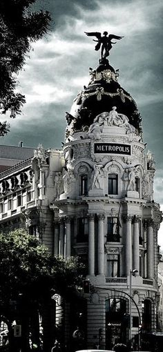 Metropolis Calle Gran in Madrid, Spain.    #Architecture