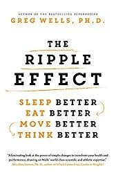 The Ripple Effect  By Greg Wells PhD   If you are looking for a good all around way to improve your life The Ripple Effect by Greg Wells PhD. is one way to do it.  This book takes the idea that we can make significant improvements in our lives by getting the proper things in our lives working together.   The Ripple Effect tells us how to get our lives working better by making small improvements (1%). We are told how proper diet exercise breathing and thought patterns all work together to…