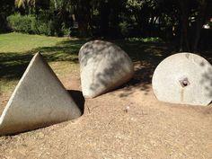 Piedras antiguas que se usaban en los molinos