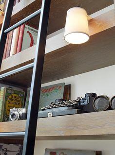 Molins Interiors // arquitectura interior - interiorismo - decoración - salón - comedor - biblioteca - librería - escalera - iluminación - lámpara decorativa