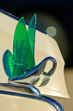 """1941 Packard """"Cormorant"""" Hood Ornament..Re-pin...Brought to you by #HouseofInsurance for #CarInsurance #EugeneOregon"""