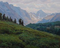 TAYLOR J. LYNDE Paintings Impressionist Realism, Listed