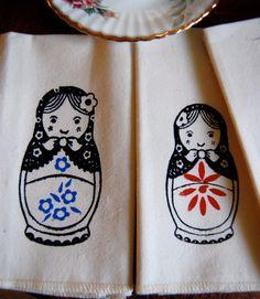 Babushka napkins