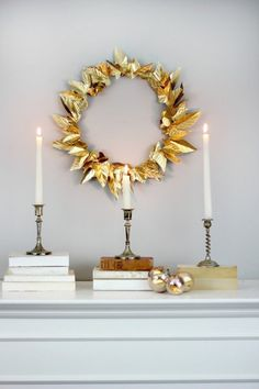 The New Wreaths: 7 Totally Sophisticated & Surprising DIY Holiday Wreaths
