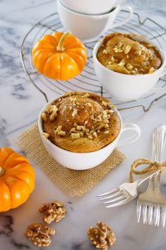 Pumpkin Spice Mug Cake / Patty's Food