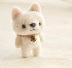 DIY Felt wool Dog / Felt Wool Bear / Felt Wool Animals  Welcome to NaturalbeautyDecor, Wool can be transformed into felt using the techniques of