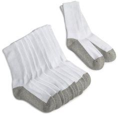 Jefferies Socks Girls Half Cushion Seamless 6 Pack Socks, White/Grey, Sock size 7-8½ Jefferies Socks,http://www.amazon.com/dp/B003VWCSNG/ref=cm_sw_r_pi_dp_lxeYsb1FJ2HQYEAR