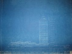 Wright cyanotype blueprint for wireframe background architect rare architectural drawings and blueprints for sale malvernweather Images