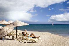Entspann dich am Strand und lies etwas vor!