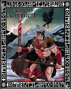 Amon+Amarth+Poster+by+FernandoSosa+on+CreativeAllies.com