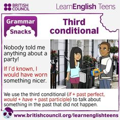 Grammar Snacks: Third conditional