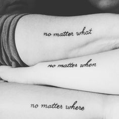 Mother and daughters tattoo No matter. - Mother and daughters tattoo No matter… Mother and daughters tattoo No matter… Mother Tattoos, Mom Tattoos, Couple Tattoos, Small Tattoos, Script Tattoos, Cross Tattoos, Ankle Tattoos, Tattoos Friends, Matching Best Friend Tattoos