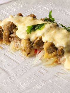 Restaurante Aires de Aragón: Musaca de Ternasco de Aragón con Verduras Asadas