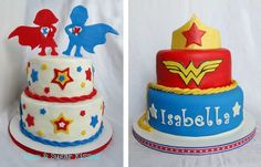 Super Hero Cakes- Wonder Woman,All the world is waiting for you..