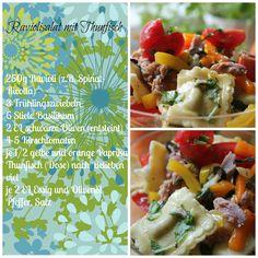 "Backen macht froh-Kochen ebenso: Ravioli-Thunfischsalat ""Outdoor"""