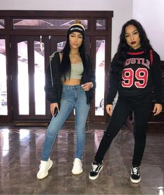 Who you know drip like dis🎯 Outfits// Fashion Nova - Going out outfits for college - Twin Outfits, Basic Outfits, Teenager Outfits, Dope Outfits, Outfits For Teens, Trendy Outfits, School Outfits, Photo Post Bad, Siangie Twins