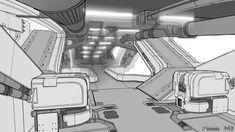 Halo 4: DLC Bridge Lower Level Concept by SBigham on deviantART