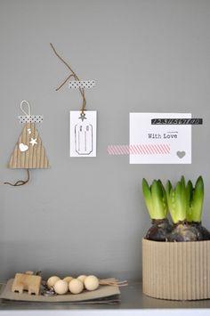 Masking Tape wall stuff <3